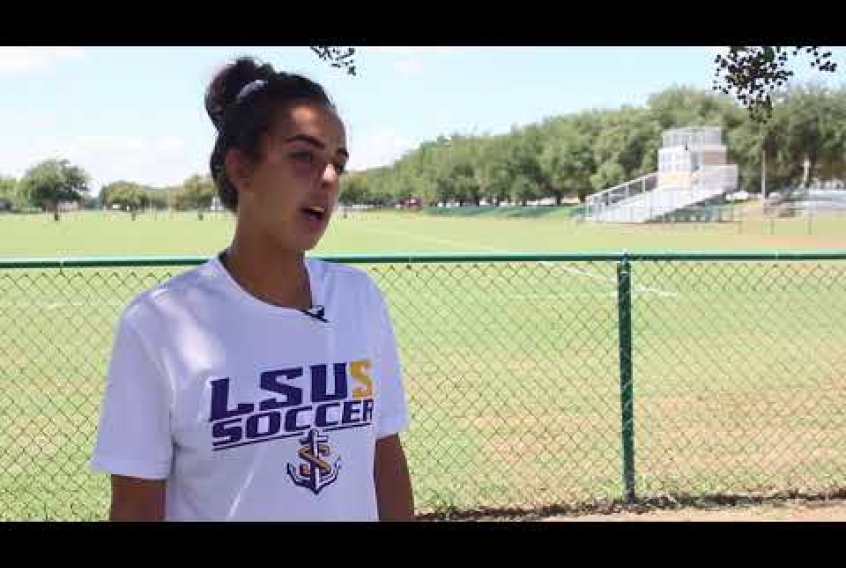 Embedded thumbnail for LSUS Soccer Kicks Off To A Renovated Field