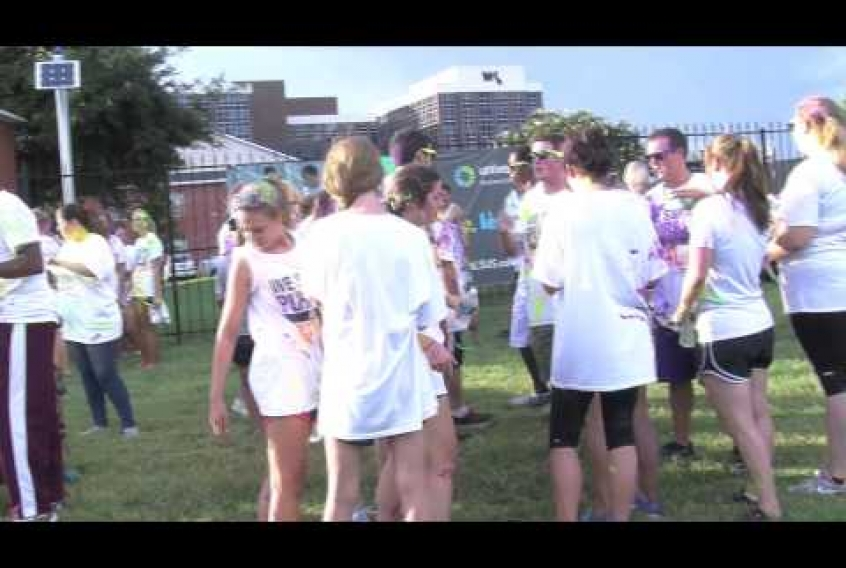 Embedded thumbnail for Color Run
