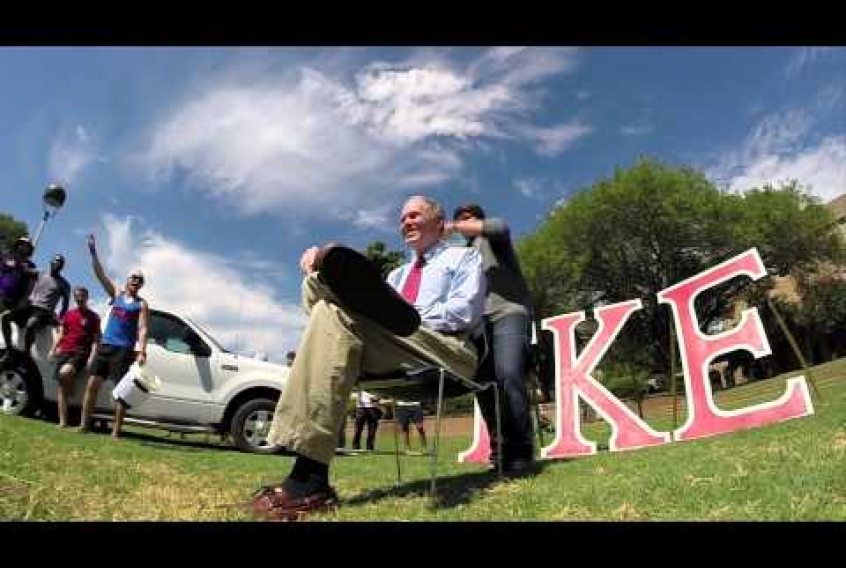 Embedded thumbnail for ALS Ice Bucket Challenge at LSUS