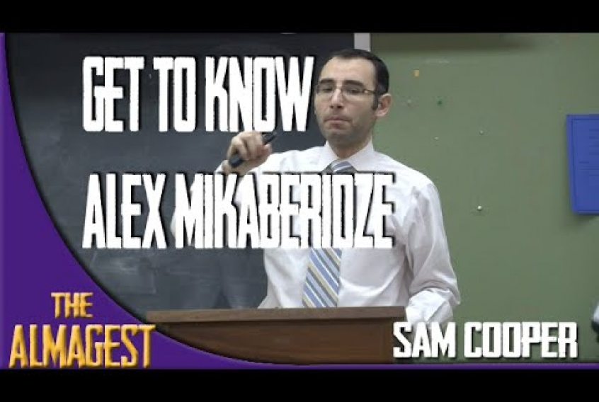 Embedded thumbnail for Getting to Know Dr. Mikaberidze