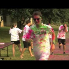 Embedded thumbnail for the 2015 SAB color run